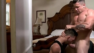 Trenton Ducati fucks along to sneak-thief