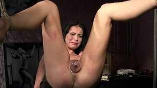Thieves deserves cruel punishments.BDSM movie.Hardcore bondage sex.