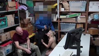Stupid Teen Madison Gets Fucked For Theft