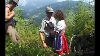 german teens saucy extreme rough outdoor double penetration
