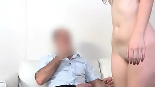 Geeky glasses with black panties(Miky Di Amond) 04 vid-09