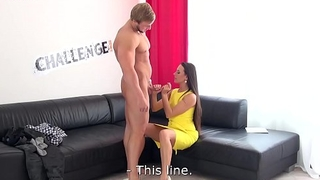 Incredibly Muscular Stud Fucks Mea Melone at His First Casting