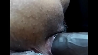 Wifey loves quickening when I play with here ass